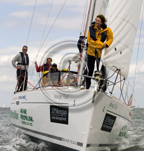 The annual JPMorgan Asset Management Round the Island Race, organised by the Island Sailing Club, is the fourth largest sporting event in the UK, competitors come from all over the UK as well as Europe and the USA to follow the 50 mile course round the Isle of Wight.