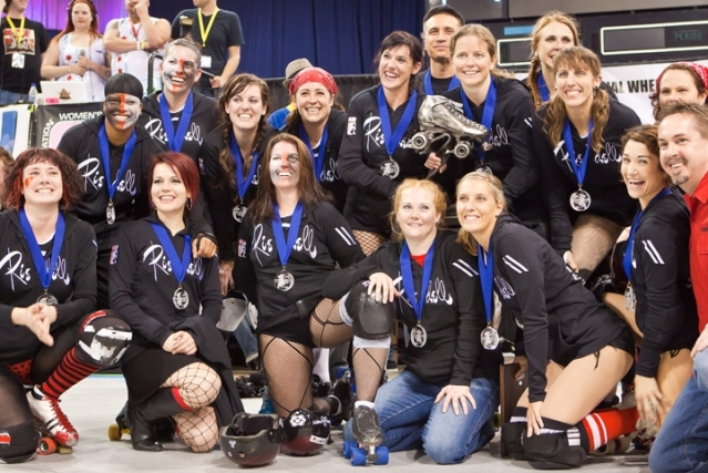 Rocky Mountain Rollergirls are 2010 Women's Flat Track Roller Derby Association Champions