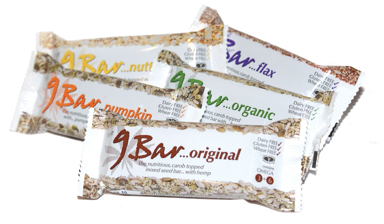 Women's Sport Report-Review 9-Bar Healthy Snack Bar