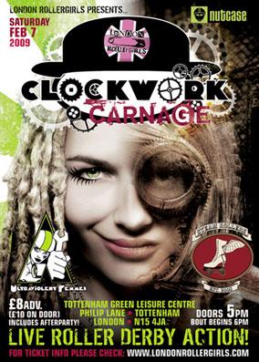 CLOCKWORK CARNAGE: Steam Rollers v Ultraviolent Femmes