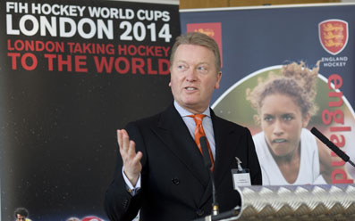 Womens Hockey-EHB and Frank Warren Launch Bid to Host 2014 Hockey World Cup