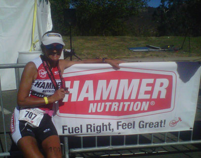 Top Ultra Distance Athlete Suzy Degazon does Magic Mountain Triathlon. As we were leaving from home we were all up at 4.15am and out of the door by 4.45am, the drive was hassle free and we were soon at Lake Castaic.