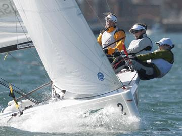 Anna Tunnicliffe (USA) Claims Women's Match Racing ISAF SailingWorld Cup Title /womensportreport.com
