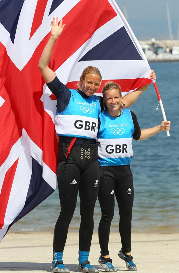 eba9e112d974 Hannah Mills   Saskia Clark win Silver for Great Britain