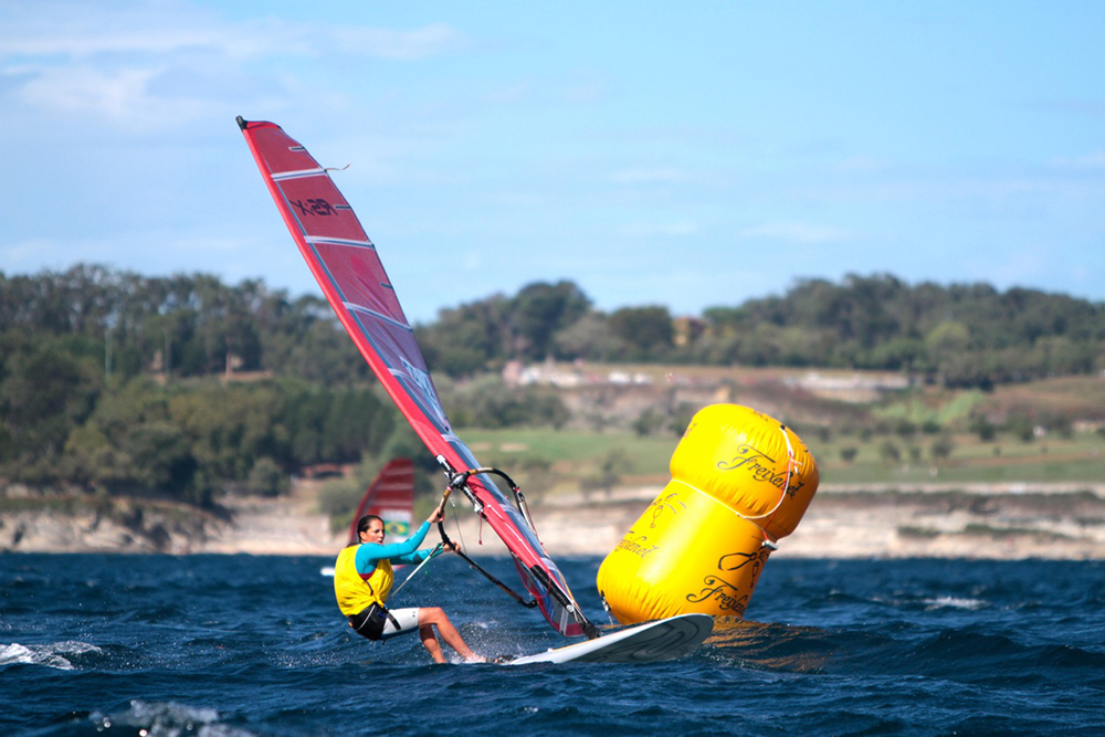 Picon Takes Early Women's RS:X Gold As Santander 2014 Leaderboards