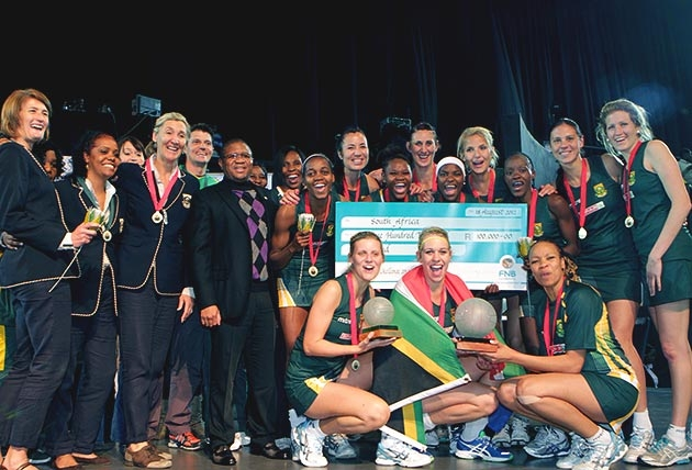 South Africa's Proteas have taken the inaugural Diamond Challenge tournament in Pretoria, with a 47-43 win over Malawi in the final.