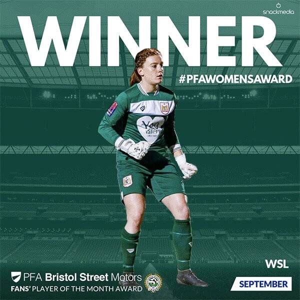 Bristol Street Motors supports women's football with inaugural PFA Fans' Women Player of the Month Awards