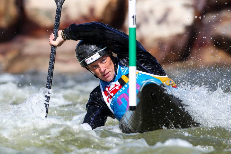 British Canoeist Fiona Pennie talks to WSR