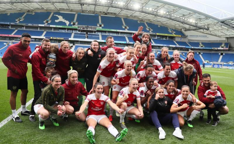 Arsenal Take Women's Super League Title