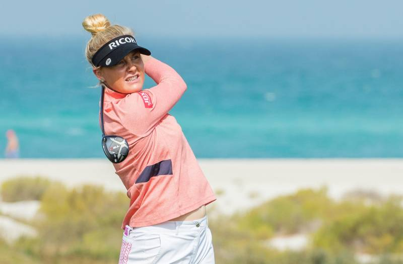 ROUND 1 REPORT FROM FATIMA BINT MUBARAK LADIES OPEN