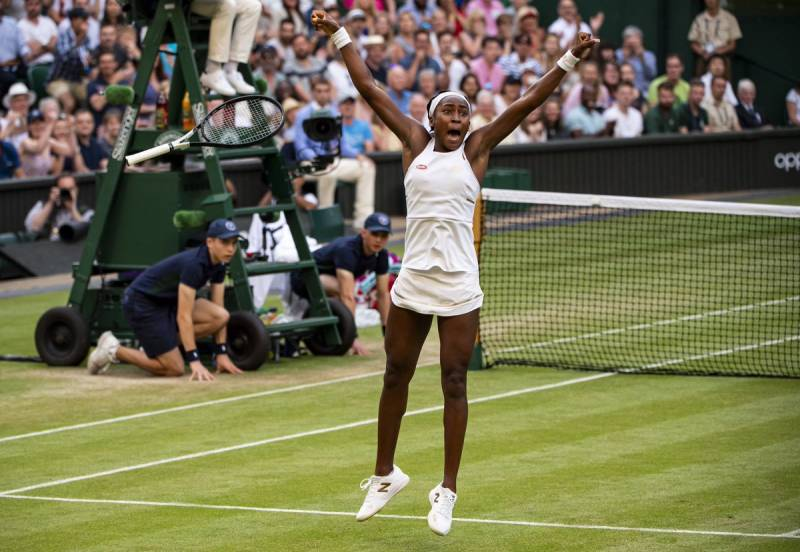Wimbledon Goes Loco as Coco Gauff Dream Continues
