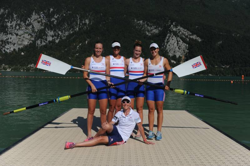 Women sport features - Rowing for Success - GB's only Female Coach