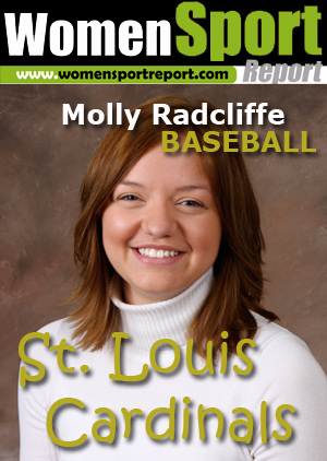 Baseball: Molly Radcliffe - Alumni Relations, St. Louis Cardinals, Missouri