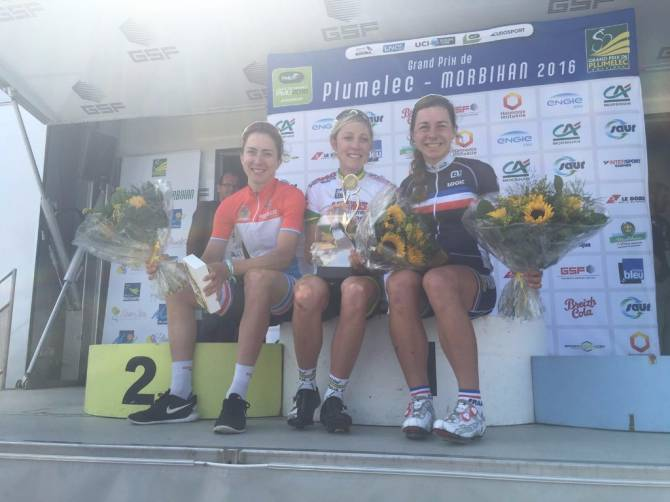 Women sport news - Mission accomplished for High5 GoExPro Australian Team as Rachel Neylan wins GP Plumelec