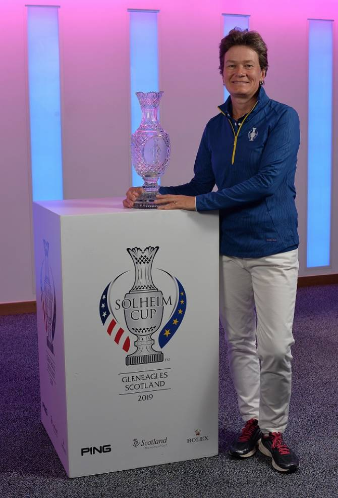 2019 Solheim Cup Captain Announcement
