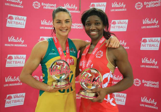 Women sport news - Agbeze up for Sky Sportswoman of the Month!