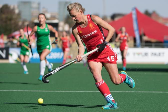 Alex Danson guides England past China