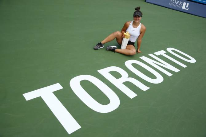 Women sport news - ANDREESCU IS ROGERS CUP CHAMPION AS INJURED SERENA WILLIAMS RETIRES