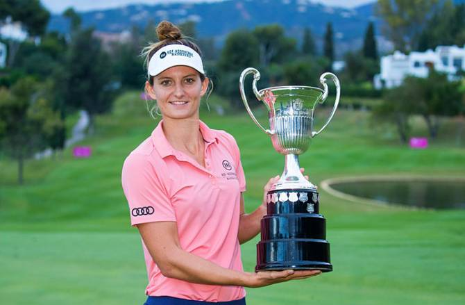Women sport news - ANNE VAN DAM SECURES SPANISH OPEN DOUBLE