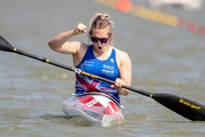 Women sport news - Athletes thrills home crowd at paracanoe world championships