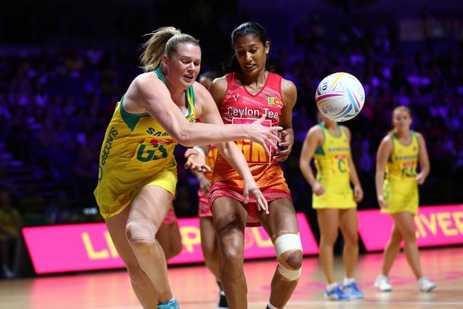 Women sport news - Australia defeat Sri Lanka  99-24 in Liverpool