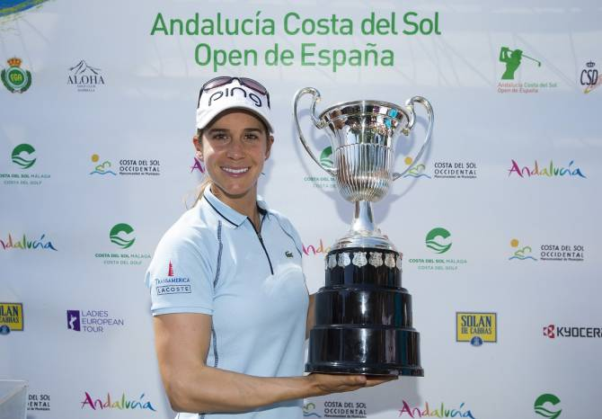 Azahara Muñoz Makes History at Home Open