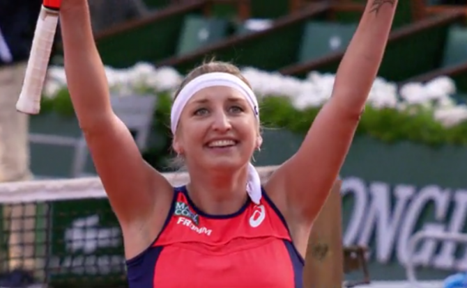 Women sport news - Bacsinszky ends dreams of France and Mladenovic