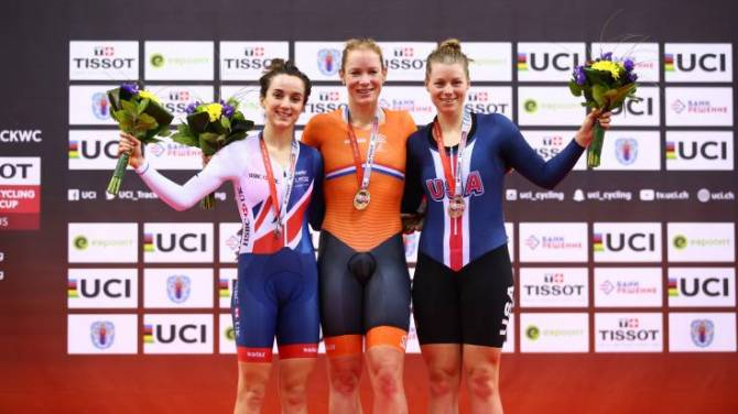 Barker wins double silver for Great Britain Cycling Team