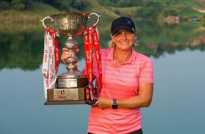 Women sport news - BECKY MORGAN WINS THE HERO WOMEN'S INDIAN OPEN FOR FIRST CAREER TITLE
