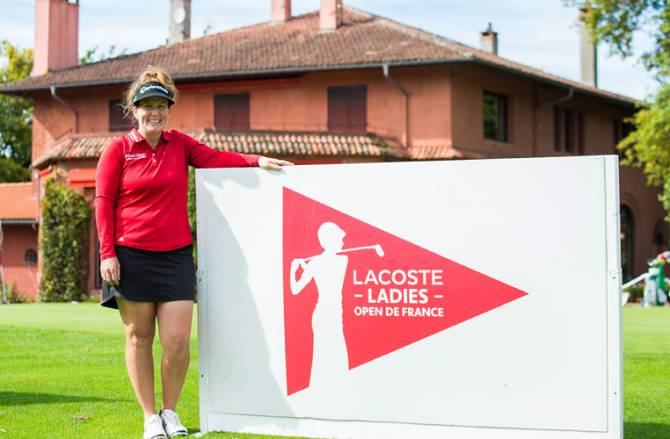 Women sport news - Beth Allen prepares to defend the Lacoste Ladies Open de France