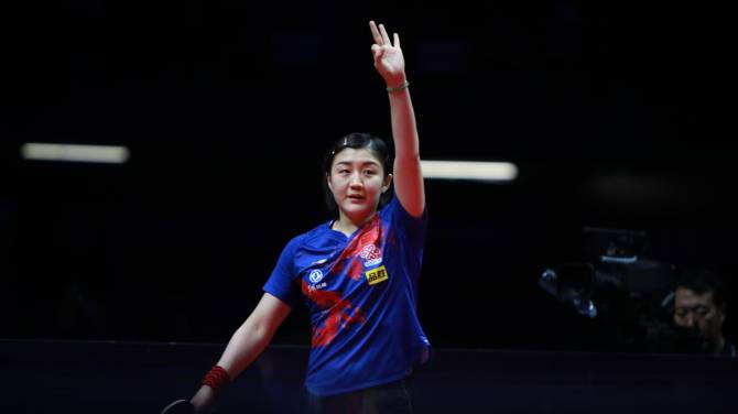 Chen Meng crowned champion at 2019 ITTF World Tour Grand Finals