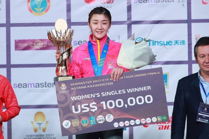 Women sport news - Chen Takes ITTF World Tour Grand Finals Gold in Astana