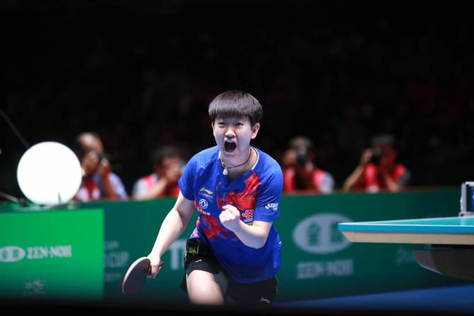 Women sport news - China reign supreme in Tokyo to retain the women's ITTF Team World Cups!