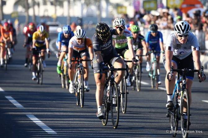 Women sport news - Chloe Hosking Restores Team Morale With Final Tour Of Qatar Stage Victory