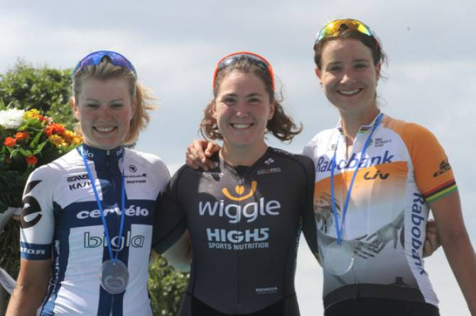 Women sport news - Chloe Hosking Wins La Course By Le Tour De France