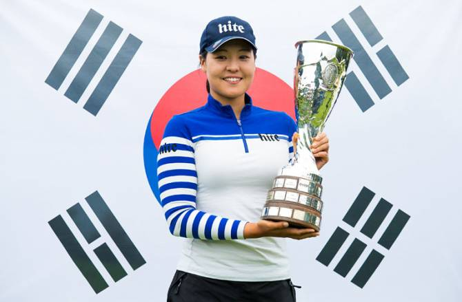 Women sport news - CHUN SETS ALL TIME MAJOR RECORD AT EVIAN