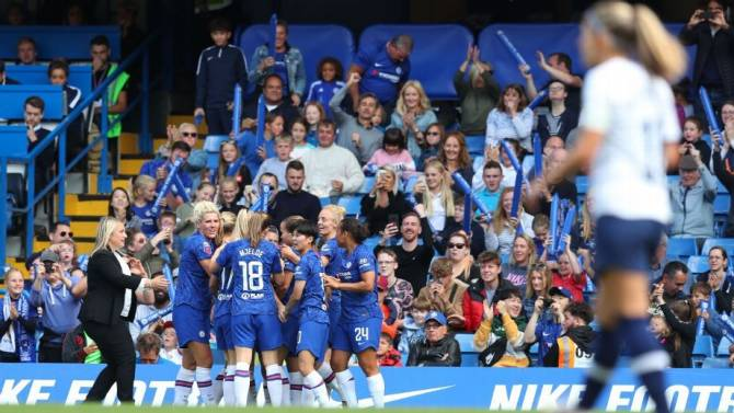 Women sport news - City, Chelsea drive record WSL weekend crowds
