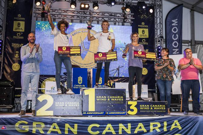 Women sport news - Daida Moreno (ESP) wins World Cup in Gran Canaria