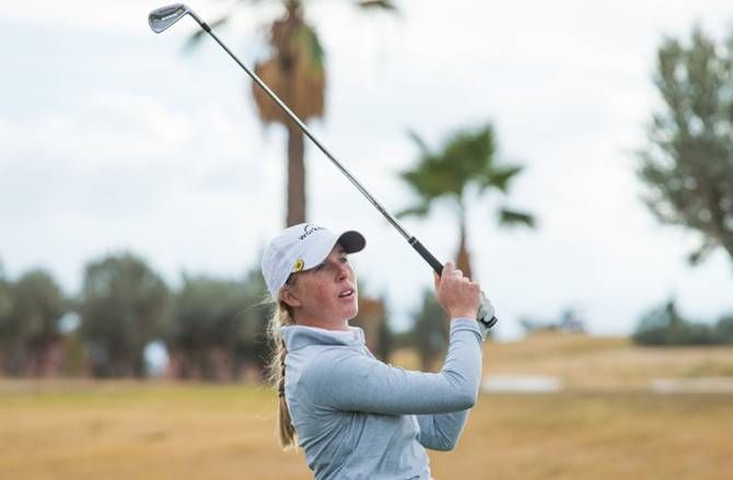 Women sport news - Danielson charges to solo lead after round two at Lalla Aicha Tour School