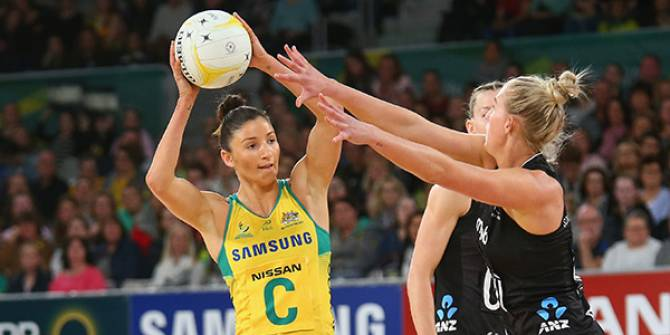 Women sport news - Diamonds claim 2018 Netball Quad Series title
