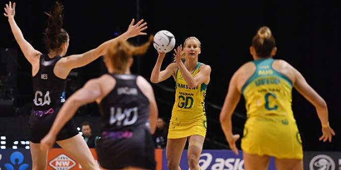 Women sport news - Diamonds go back to back wins in New Zealand