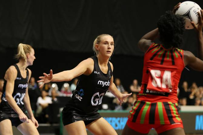 Dominant win for Silver Ferns in Taini Jamison Trophy opener