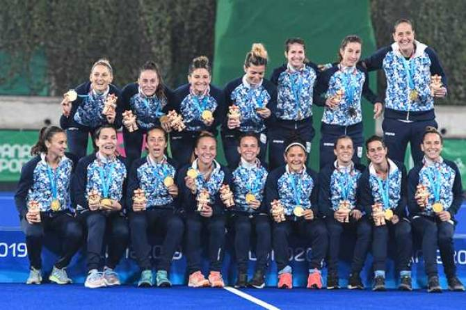 Women sport news - Double delight as Argentina are Tokyo-bound