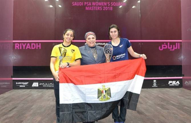 Women sport news - Egypt's El Sherbini Claims Historic Inaugural Saudi Women's Masters Crown