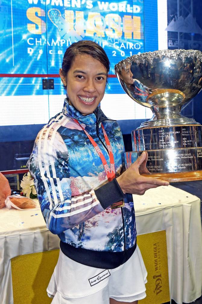 Women sport news - Eight-Time World Champion Nicol David to Retire at End of Season