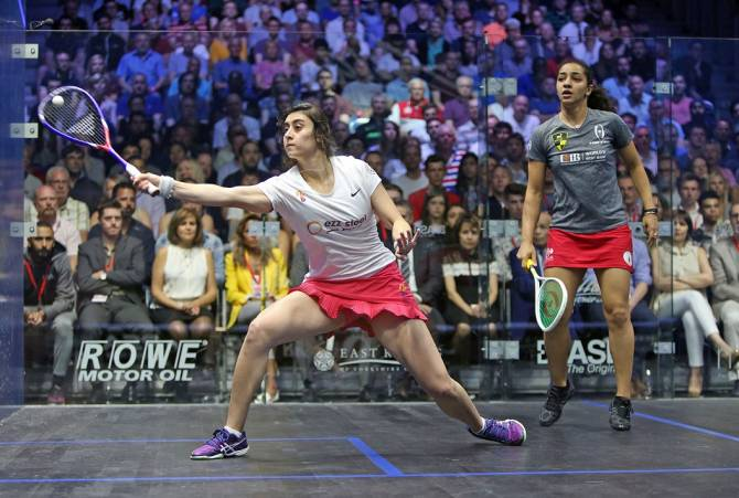Women sport news - El Sherbini Claims 2018 British Open Title