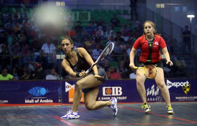 El Sherbini Crashes Out of CIB PSA World Tour Finalsas Semi-Finalists Are Confirmed