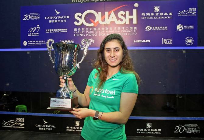 El Sherbini Lifts Hong Kong Open Title