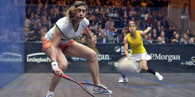 Women sport news - El Sherbini on Verge of Qualifying for PSA World Series Finals