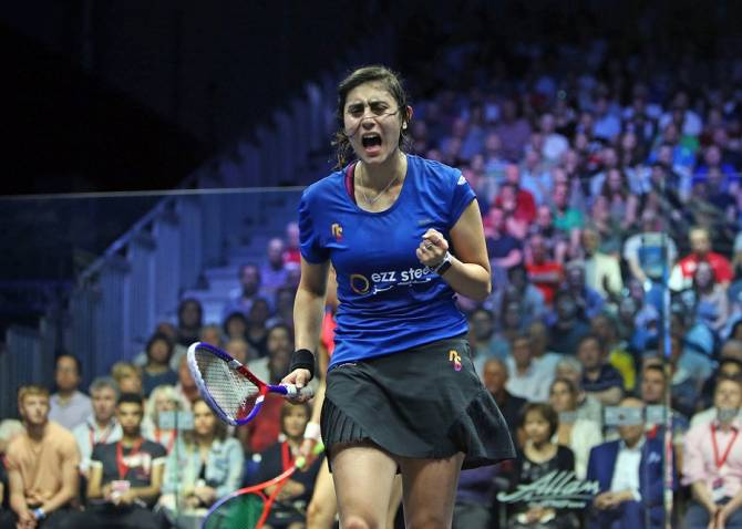 Women sport news - El Sherbini Relishing Tough Dubai Test